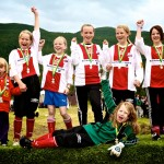 BOIF Girls (klasse J00, minijenter 10 år). Foto: Robin Lund, Fotonaut.no