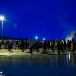 Den store isbadedagen 2010 på Evenskjer. Foto: Robin Lund, Fotonaut.no