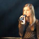 Sara Andersson sang «The Look of Love». Foto: Robin Lund, Fotonaut.no