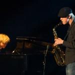 Kristian Arntsen og Ruben Bratli som duoen «Ruben og Kristian» var ett av de fire innslagene som kom seg igjennom nåløyet. Foto: Robin Lund, Fotonaut.no