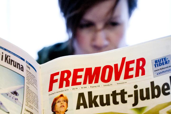 Mistillit til Fremover-redaktøren