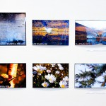 TJELDSUND 26. FEBRUAR 2011 - ETS UKM i Fjelldal samfunnshus. Marte Helen Henriksen (15 år), fra Tjeldsund, stiller ut med fotografiseriene «Naturbilder» og «Båthavn». Foto: Robin Lund