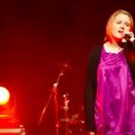 Dina Øien Jakobsen sang solo-balladen «You lost me». Foto: Robin Lund, Fotonaut.no