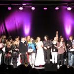 Glade «vinnere». Alle som går videre til fylkesmønstringen i Finnsnes. Foto: Robin Lund, Fotonaut.no