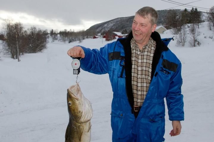 Dobbeltvinner i isfiskekonkurranse
