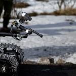 Robot brukt for å uskadeliggjøre ulike eksplosiver. Foto: Erik Berger Vaage/Forsvaret