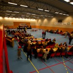 Bjerkvik-hallen som konsertlokale. Foto: Robin Lund
