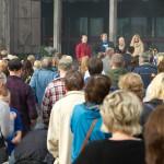 Bildeserie, fakkeltog, Norge og Narvik i sorg. Narvik var fylt av mennesker som markerte sin sorg etter anslaget mot Norge 22. juli 2011. Foto: Robin Lund