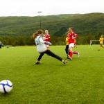 Finalespill under Ballangen Camping Cup 2011. Foto: Robin Lund, fotonaut.no