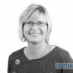TJELDSUND 13. OKTOBER 2011 - Konstituering av kommunestyret. Høyres Solveig Einarsen. (Foto: Robin Lund, fotonaut.no)