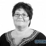 TJELDSUND 13. OKTOBER 2011 - Konstituering av kommunestyret. Fremskrittspartiets Jorunn Heidi Olsen. (Foto: Robin Lund, fotonaut.no)