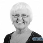 TJELDSUND 13. OKTOBER 2011 - Konstituering av kommunestyret. Hinnøysiden tverrpolitiske listes Gunnhill Margy Andreassen. (Foto: Robin Lund)