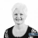TJELDSUND 13. OKTOBER 2011 - Konstituering av kommunestyret. Arbeiderpartiets Aina Instanes. (Foto: Robin Lund)