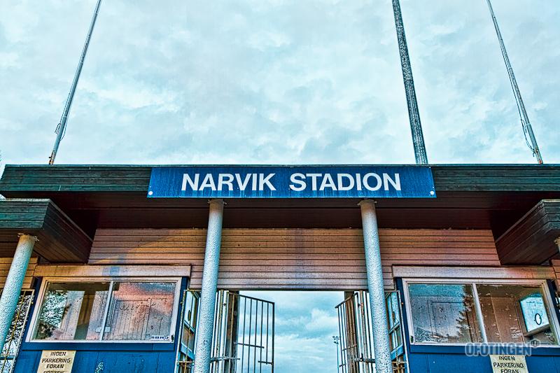 Narvik stadion. Arkivfoto: Robin Lund