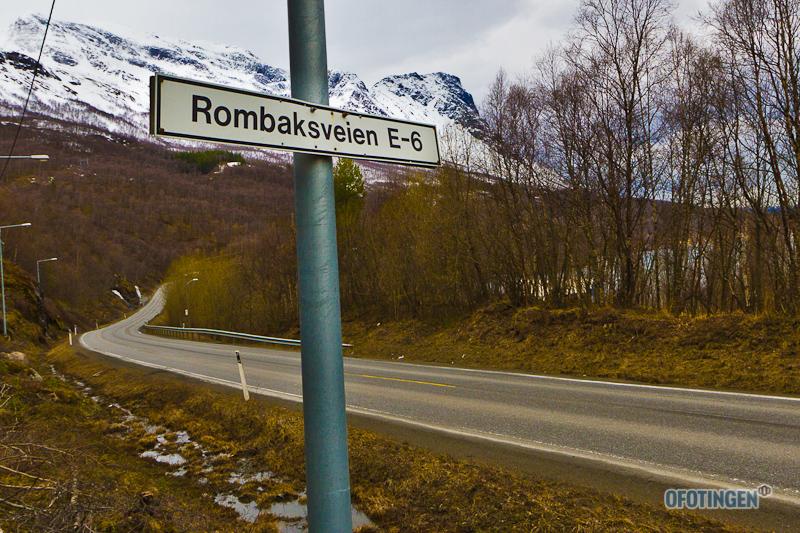 Rombaksveien. Arkivfoto: Robin Lund .no