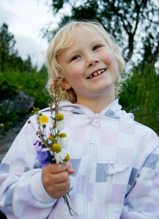 Terese Sandvik 8 år