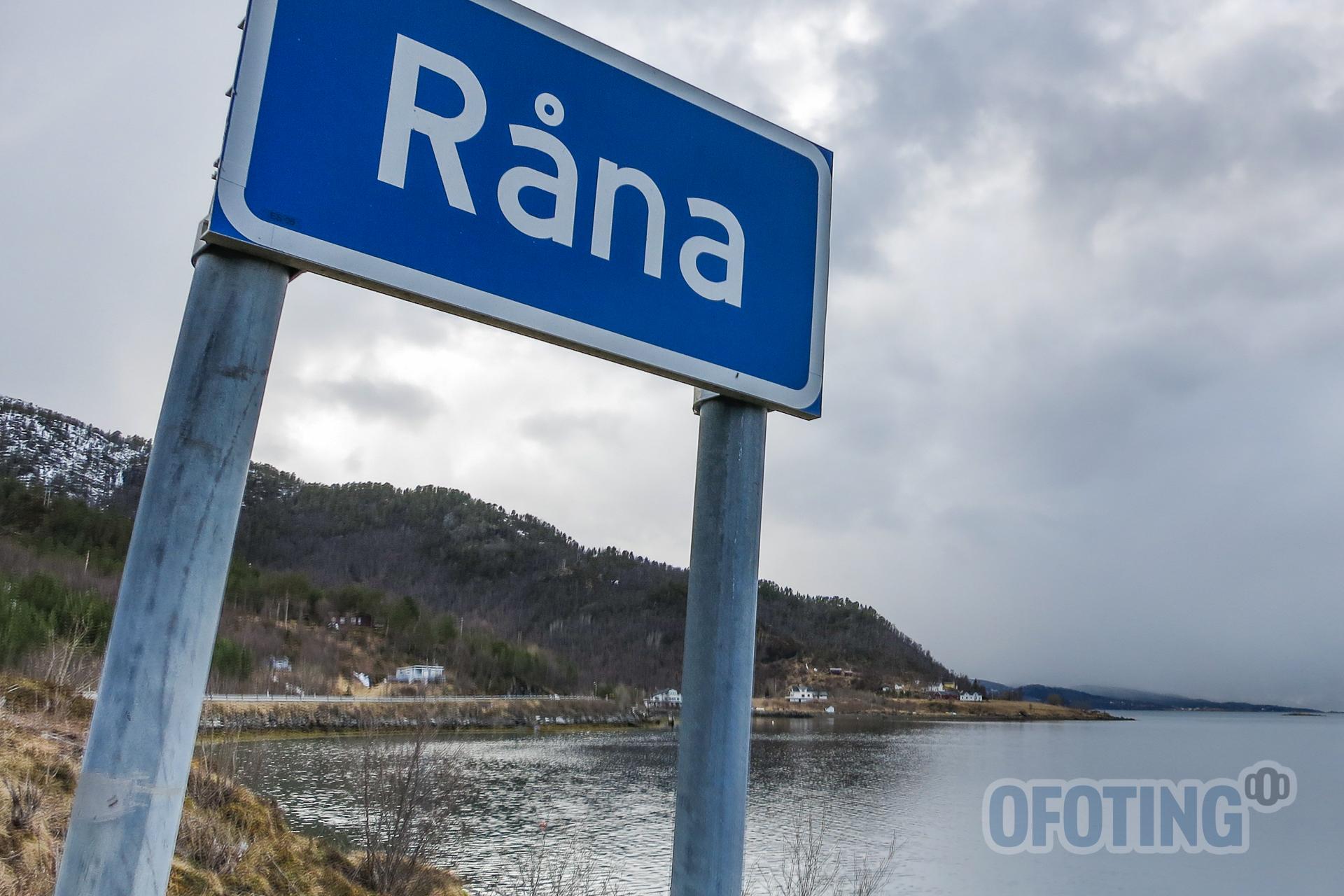 Råna, mellom Narvik og Ballangen. Illustrasjonsfoto: Robin Lund .no