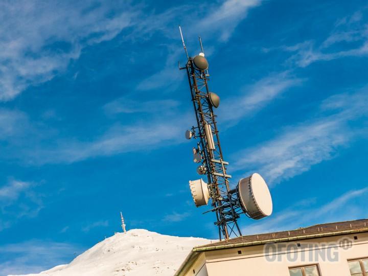 Kommunikasjon i Narvik. Illustrasjonsfoto: Robin Lund .no