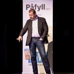 NARVIK, 29. APRIL 2013 - PG Wettsjö på næringskonferansen «Påfyll», som gikk av stabelen på Folkets Hus. Petter Northug, PG Wettsjö og Eirik Frantzen var trekkplastrene. (Foto: Robin Lund .no)