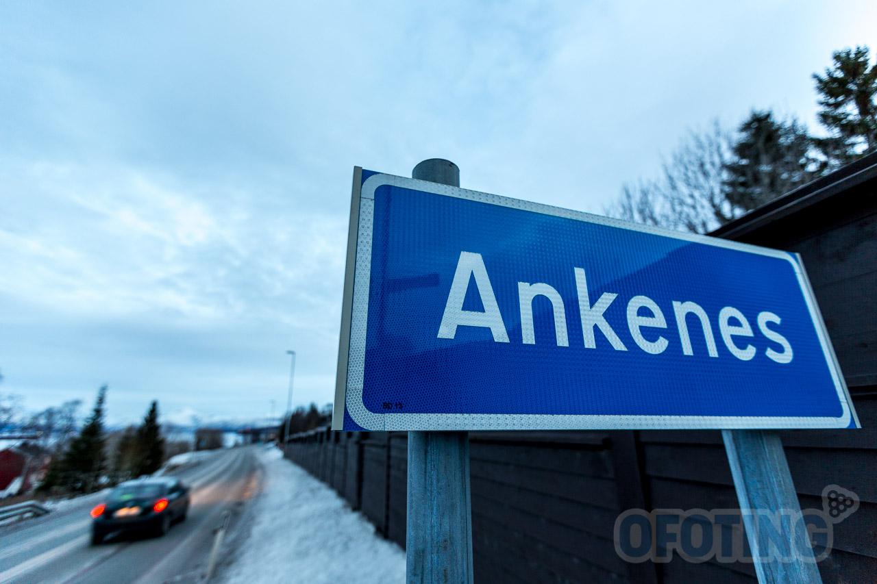 Ankenes fra sør. Arkivfoto: Robin Lund .no