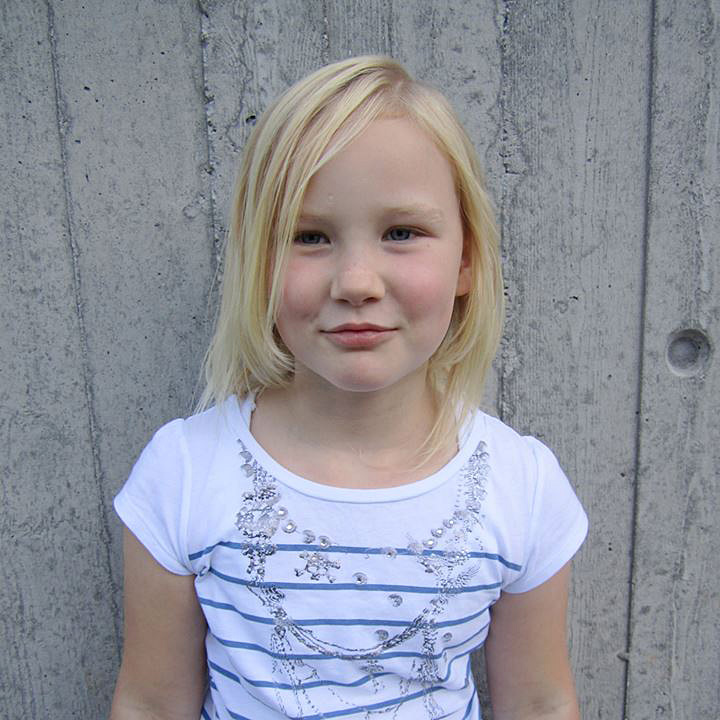 Therese 9 år