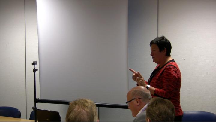 Ofoting.tv: Fylkesmann Hill-Marta Solberg orienterer om kommunesammenslåing