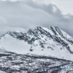 Skjomtinden vinterstid