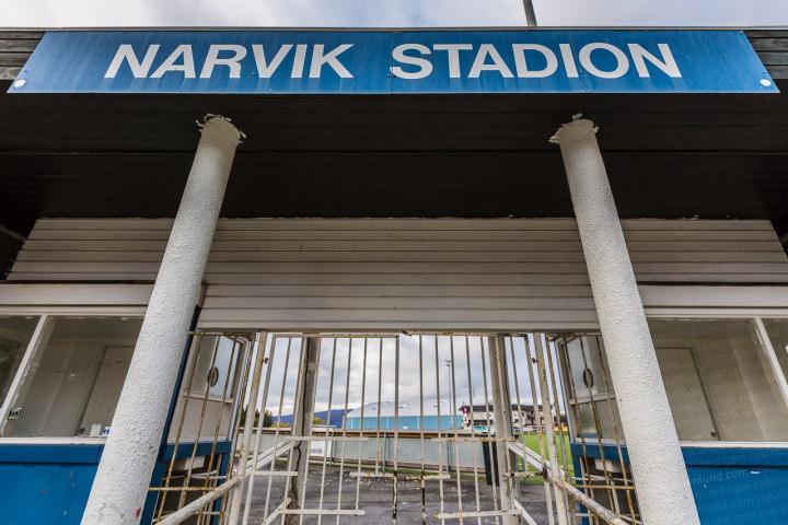 Narvik stadion inngang
