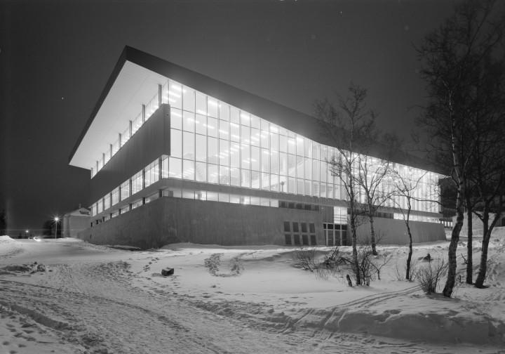 Fasade, Idrettens hus, Narvik