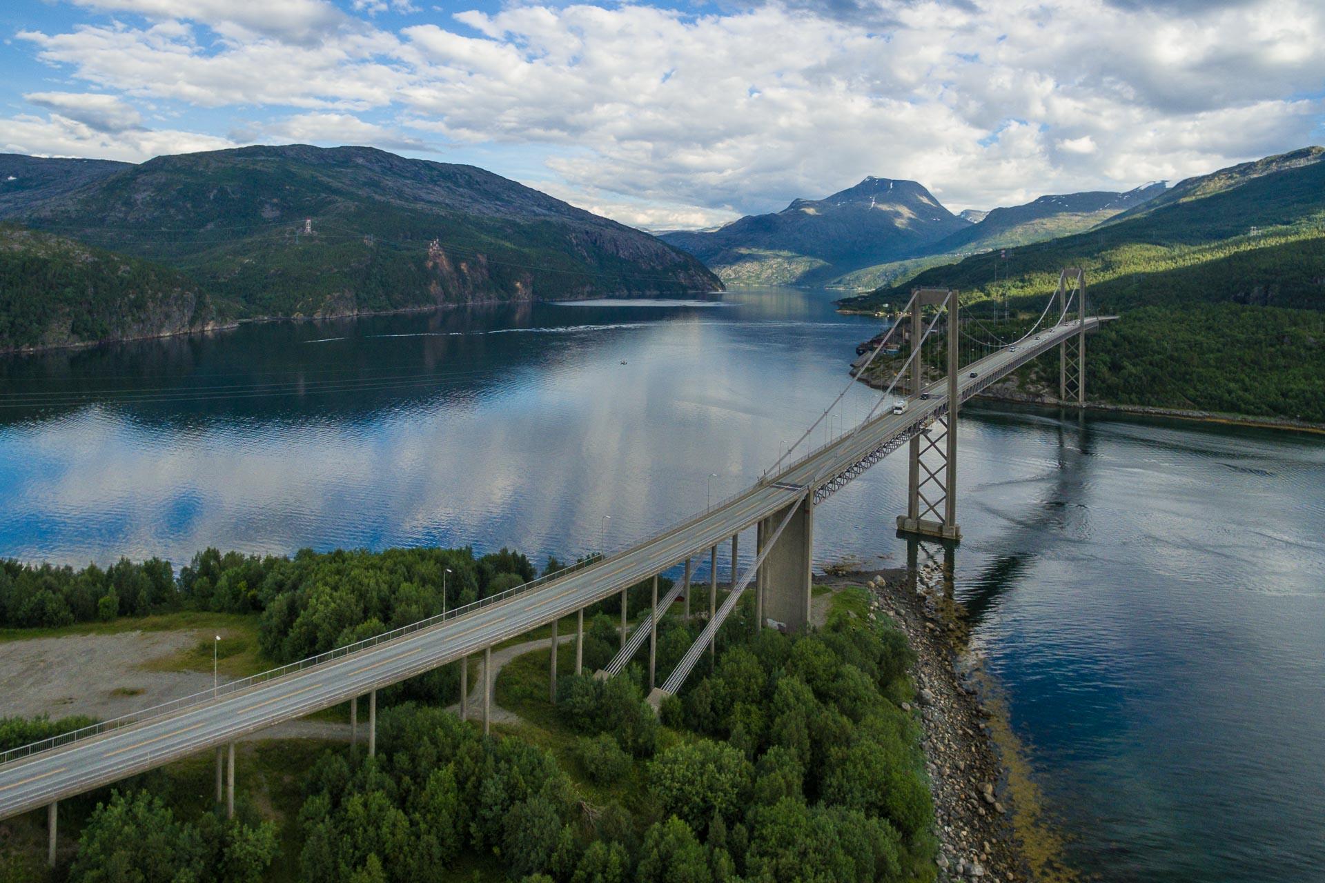lengste fjord i troms