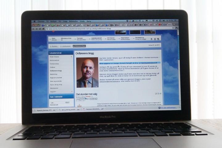 Ofoten-blogger: Ordfører Jardar Jensen