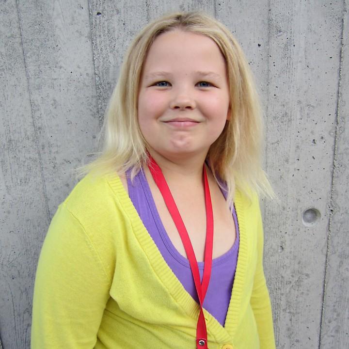 Pia Helene Sandvik 11 år