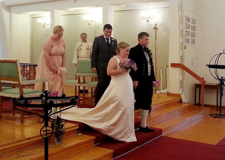 Nygift: Sofie Sandvik og Andreas Eidissen