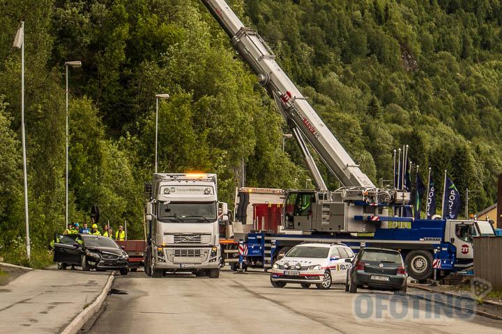 Trafikkulykke i Narvik