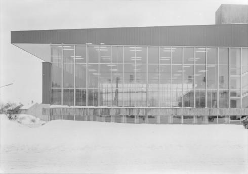 Idrettshallen, Idrettens hus, Narvik