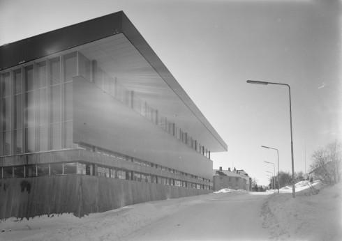 Fasade Villaveien, Idrettens hus, Narvik