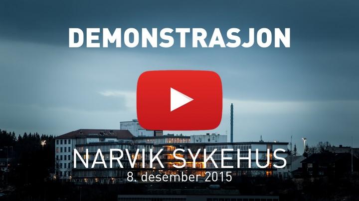 Ofoting.tv: Sykehusaksjonen 2015 demonstrasjon